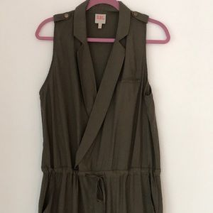 RBL Pants - RBL Nordstrom Olive Army Green Jumpsuit Romper